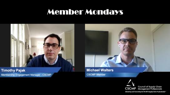 Member Mondays - Michael Walters