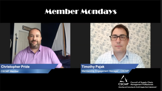Member Mondays – Christopher Pride